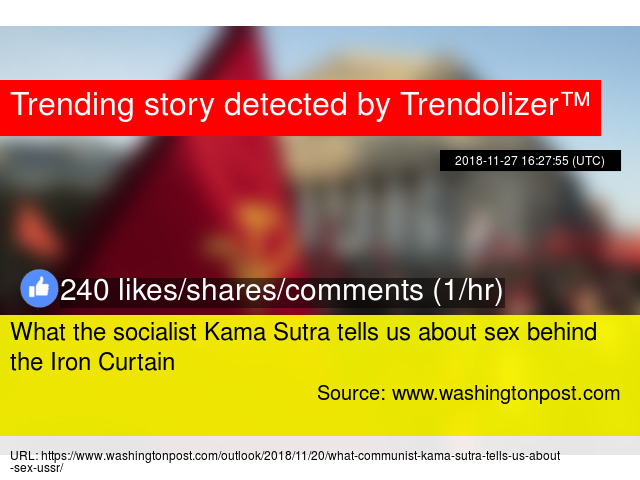 What the socialist Kama Sutra tells us about sex behind the ...